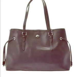 COACH PEYTON SAFFIANO LEATHER SATCHEL., Authentic?